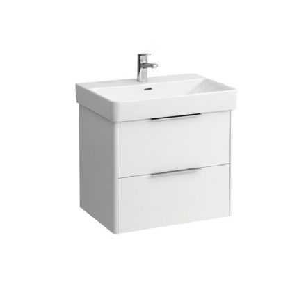 810964 - Laufen Pro S 650mm x 465mm Washbasin & Base Vanity Unit - 8.1096.4